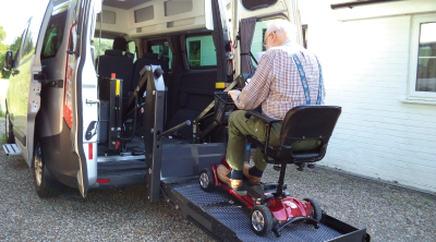 Mobility-lift-for-scooter-or-wheelchair-converted-by-Auto-Camper-on-a-Transit-Custom